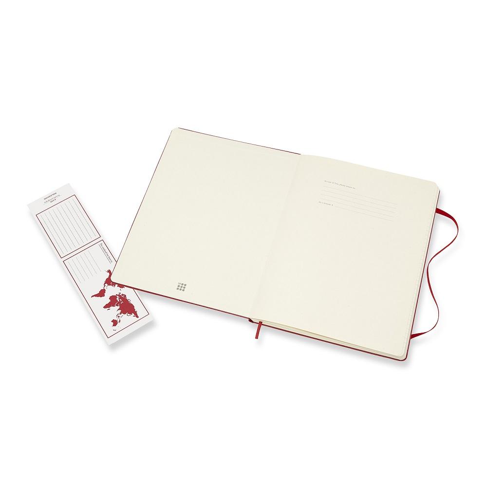 MOLESKINE|經典紅色硬殼筆記本-XL橫線