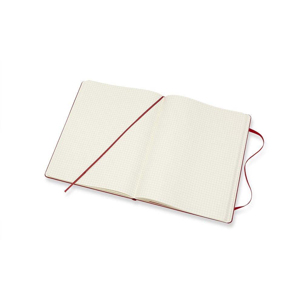 MOLESKINE 經典紅色硬殼筆記本-XL方格