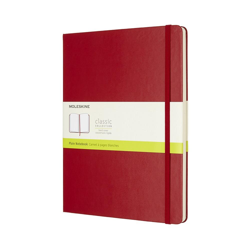 MOLESKINE 經典紅色硬殼筆記本-XL空白