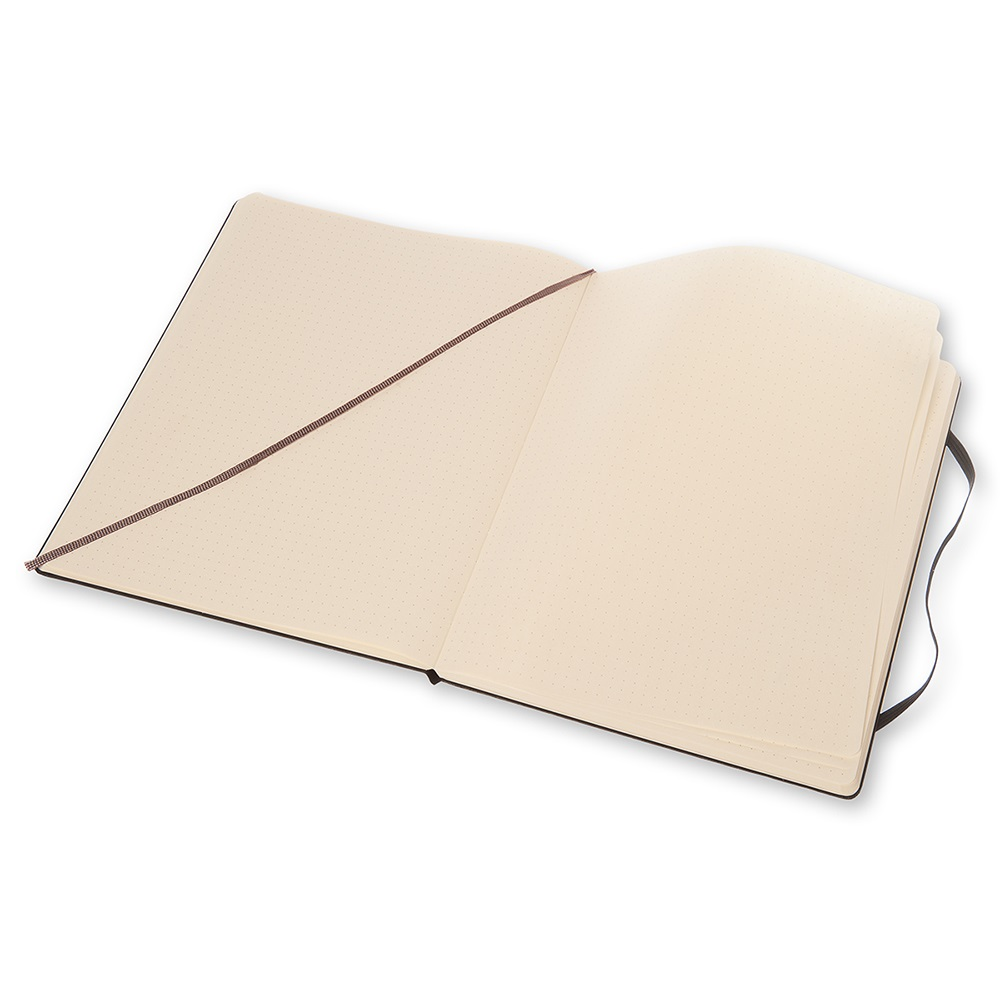 MOLESKINE|經典黑色硬殼筆記本-XL型點線