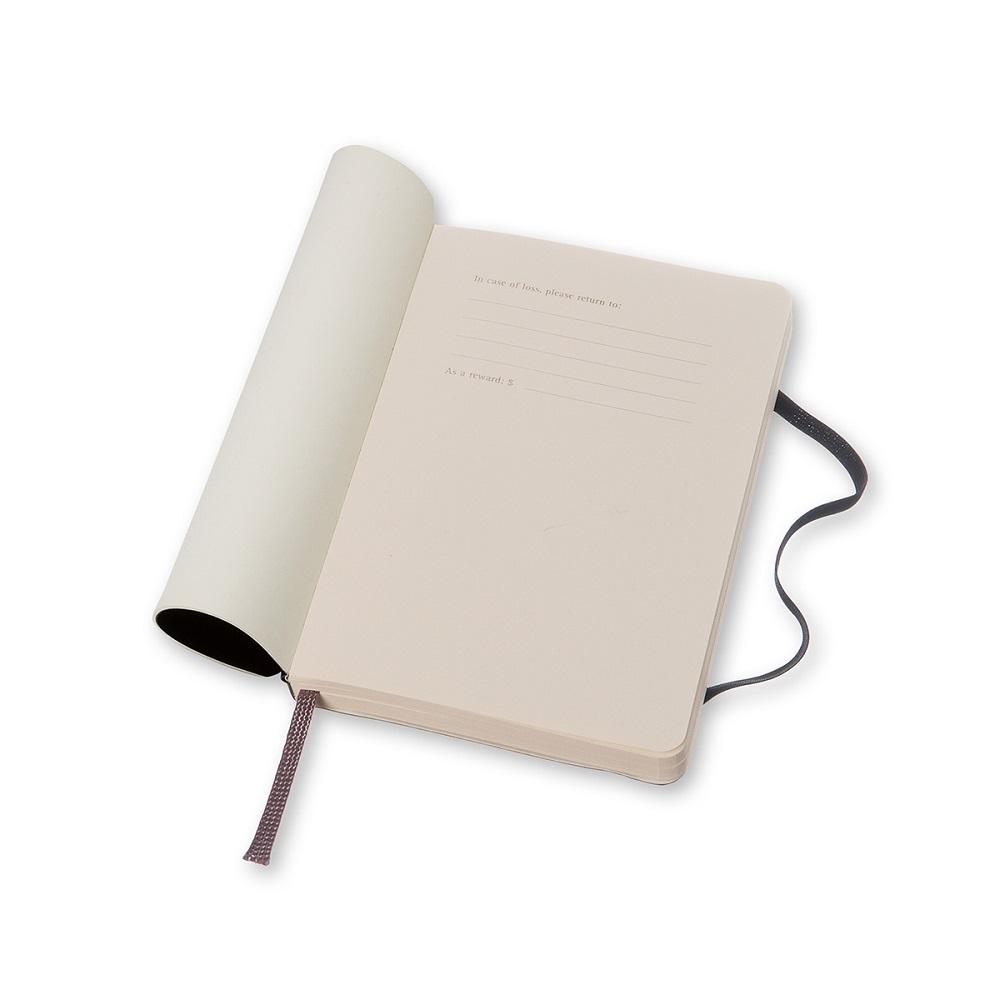 MOLESKINE|經典黑色軟皮筆記本-口袋點線