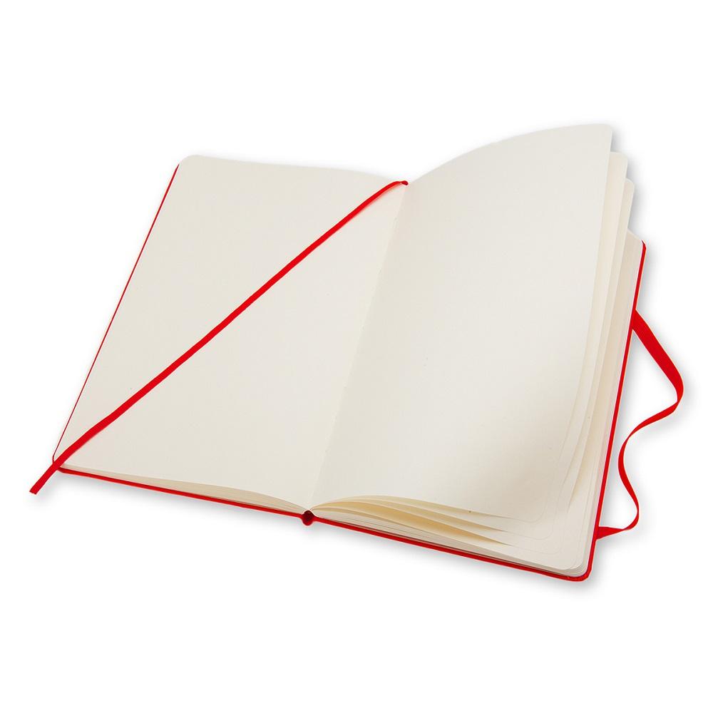 MOLESKINE|經典紅色硬殼筆記本-口袋空白