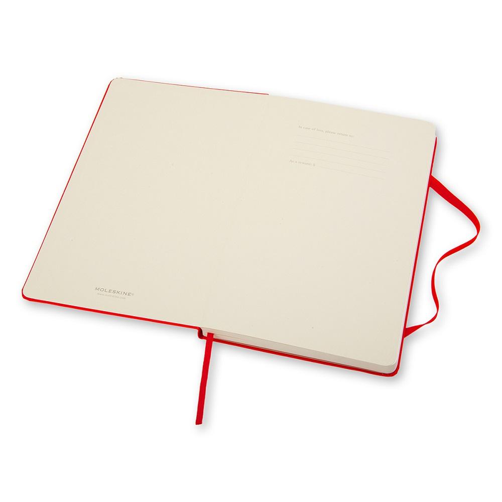 MOLESKINE 經典紅色硬殼筆記本-口袋空白