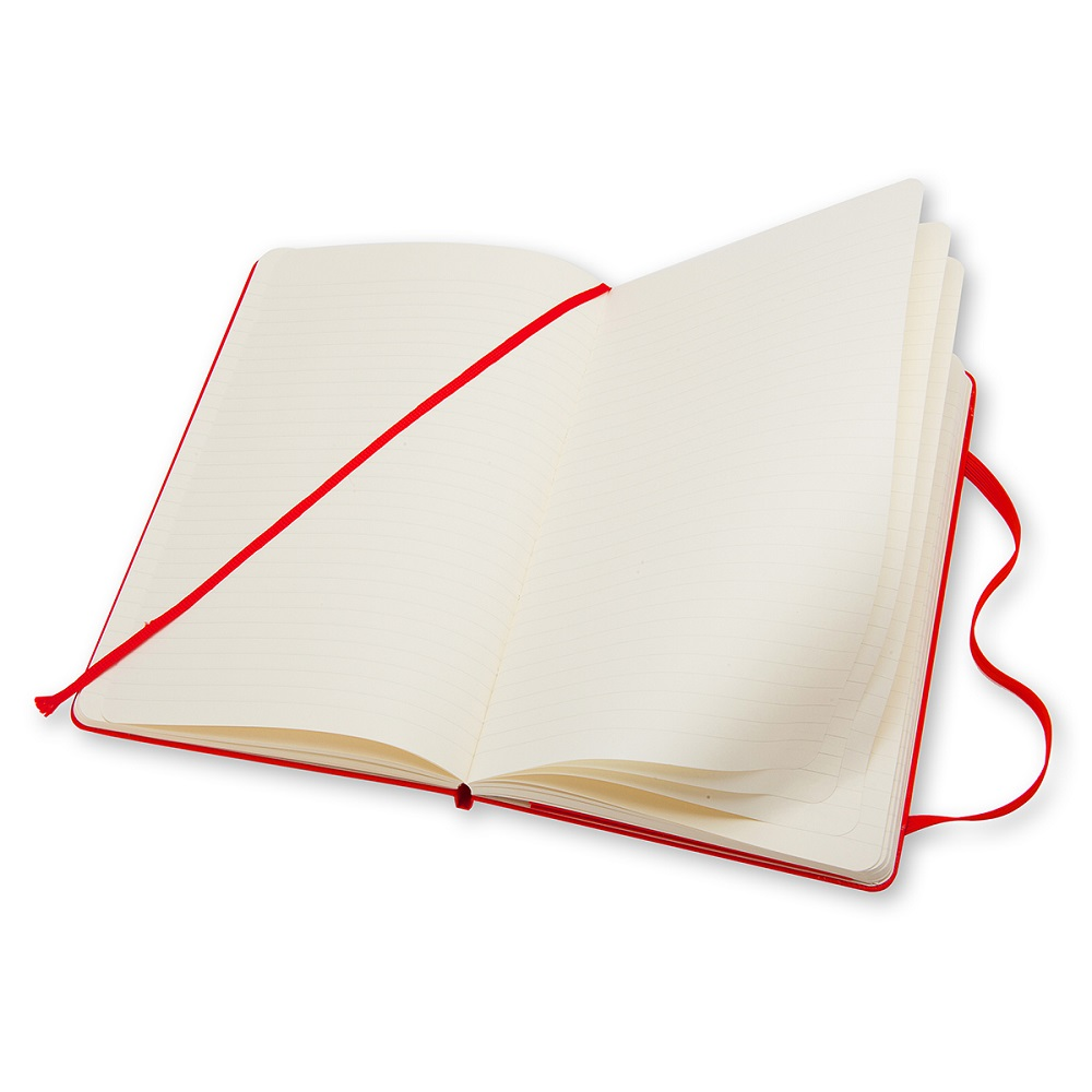 MOLESKINE|經典紅色硬殼筆記本-L型橫線