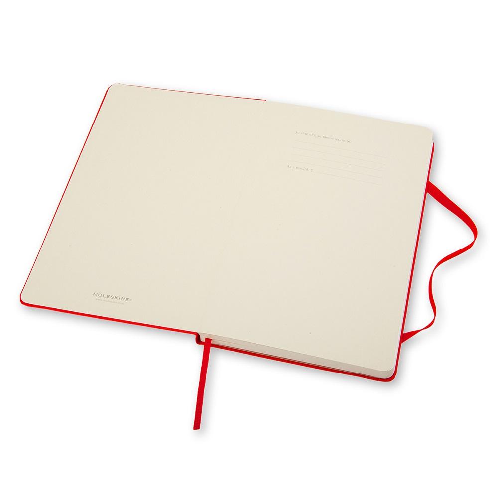 MOLESKINE|經典紅色硬殼筆記本-L型空白