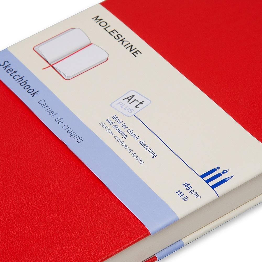 MOLESKINE|藝術系列素描本-L型紅