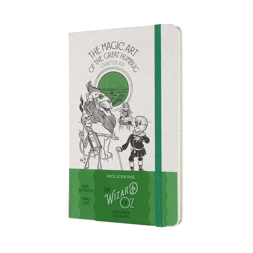 MOLESKINE 綠野仙蹤限量筆記本-大騙子的魔法(L型橫線)