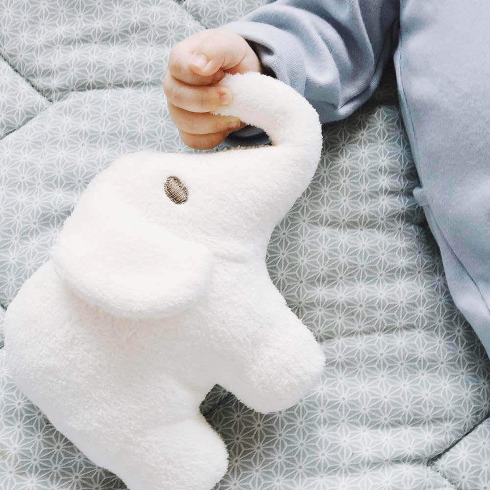 Petit Stellou|寶寶安撫長鼻小象(米白色)