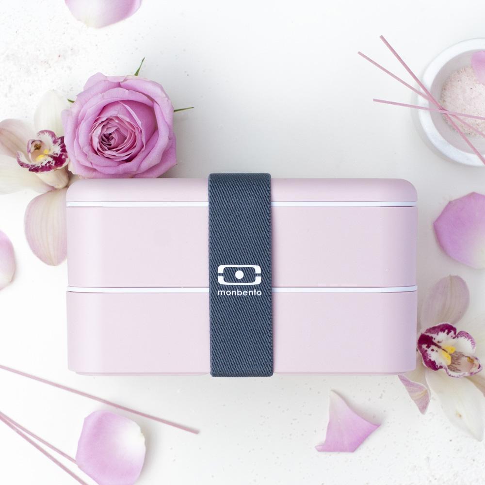 MONBENTO|雙層餐盒 (荔枝色)