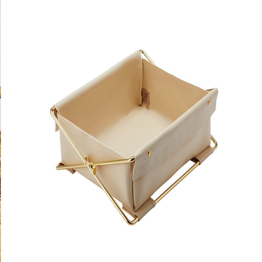 bencross本心本來|可折疊收納盒-米灰色-單格