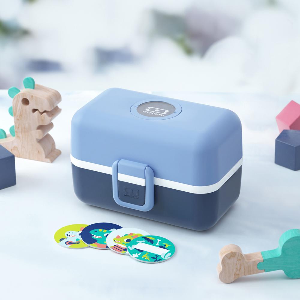 MONBENTO|兒童百寶便當盒-翠藍色