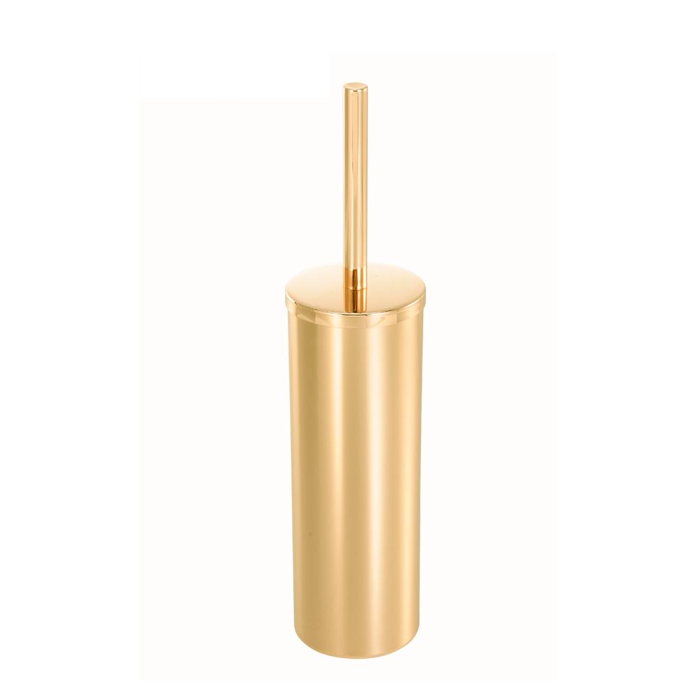 bencross本心本來|不鏽鋼馬桶刷架-亮金色