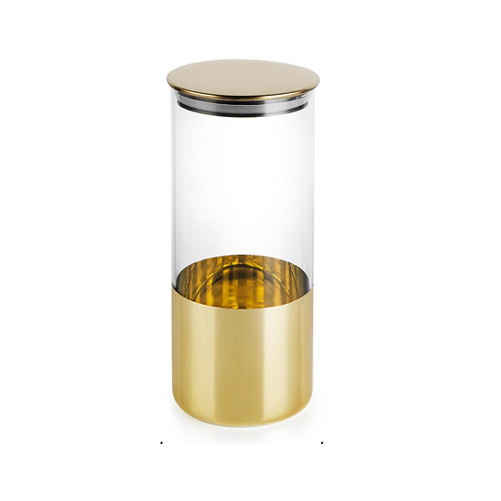bencross本心本來 淺亮金玻璃罐-特大/1400ML