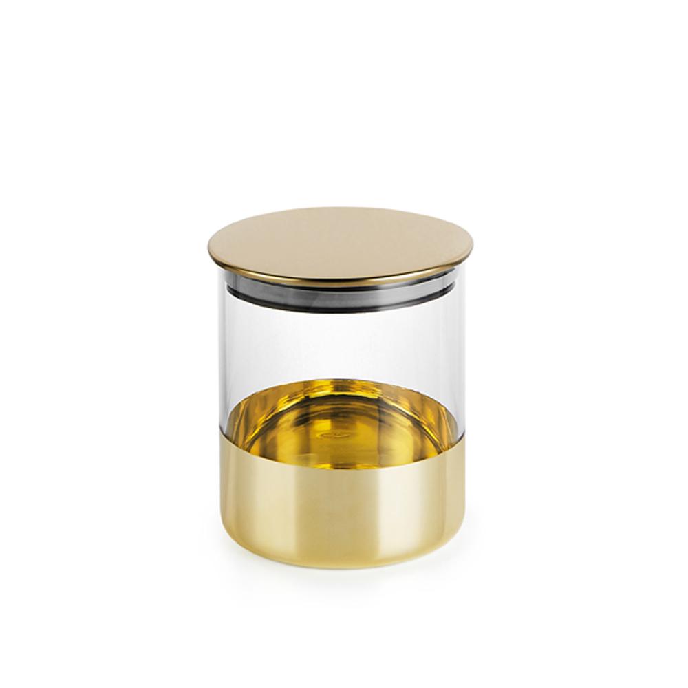 bencross本心本來 淺亮金玻璃罐-中/650ML