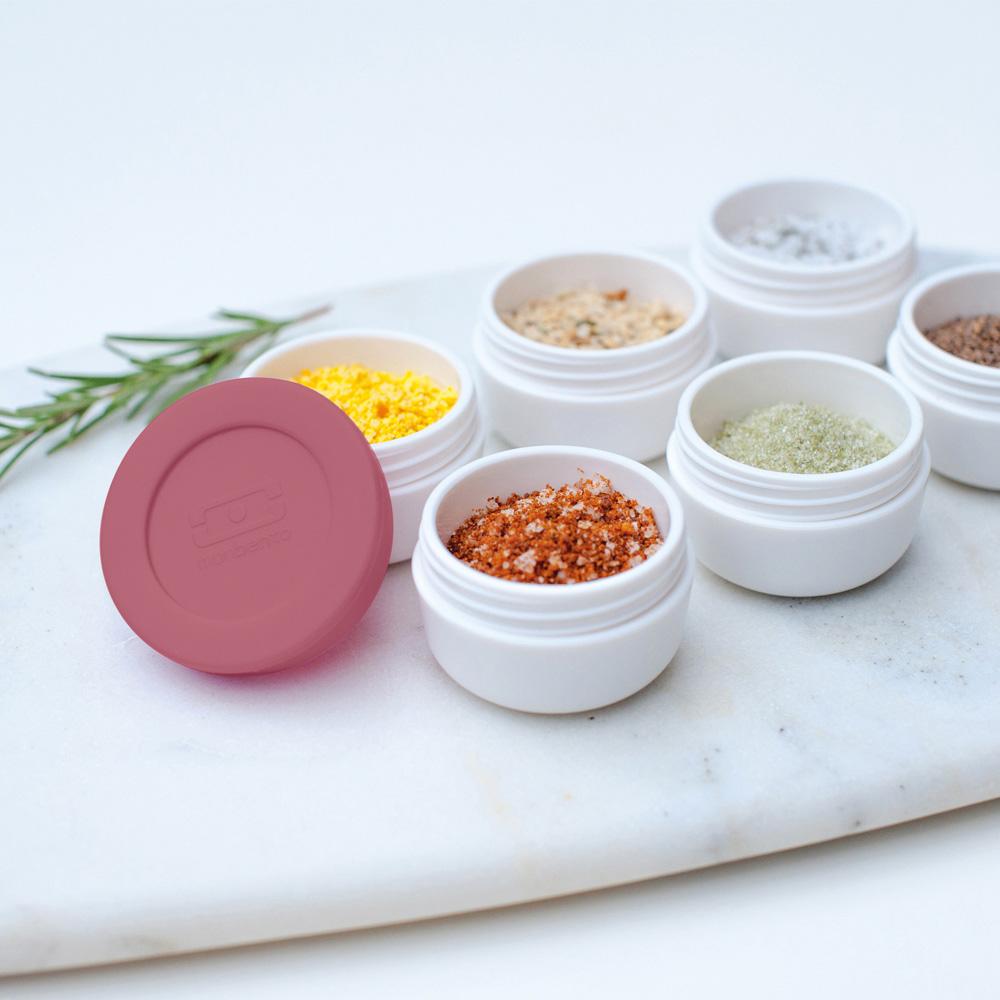 MONBENTO|醬料杯M 28ml-玫瑰豆沙色
