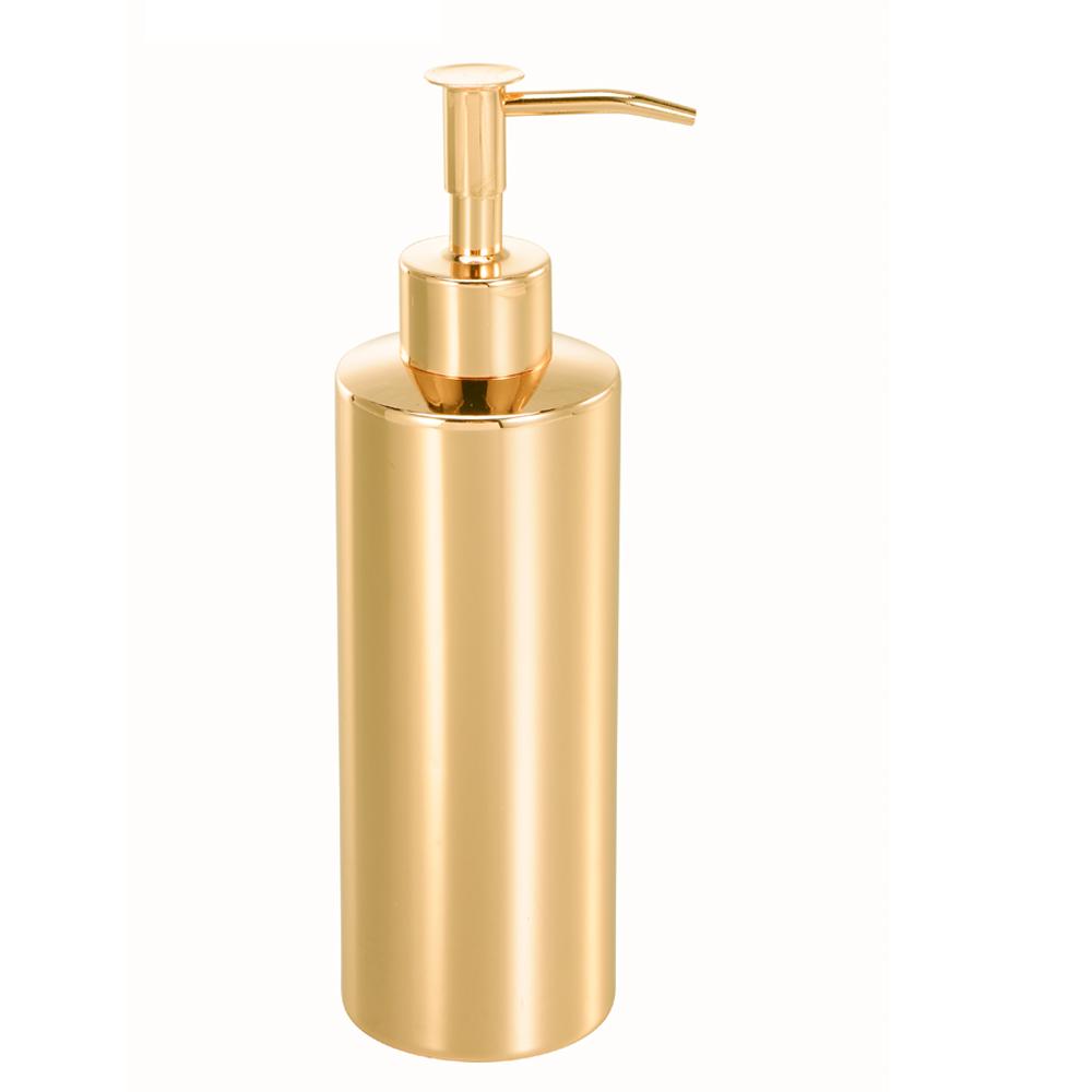 bencross本心本來|不鏽鋼洗手液瓶-亮金色