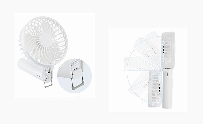 FROMb|摺疊式手持風扇(天空藍)