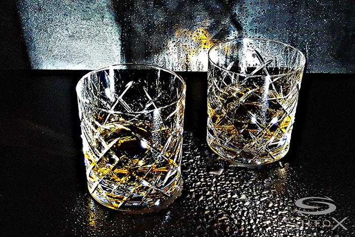 SHTOX|炫轉威士忌水晶杯(款式11)