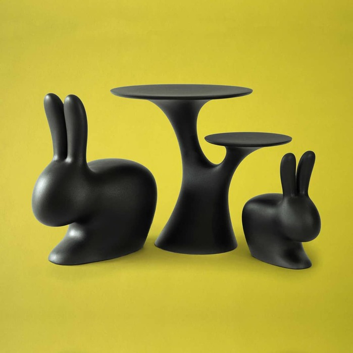 Qeeboo|兔子大造型椅(10色可選)