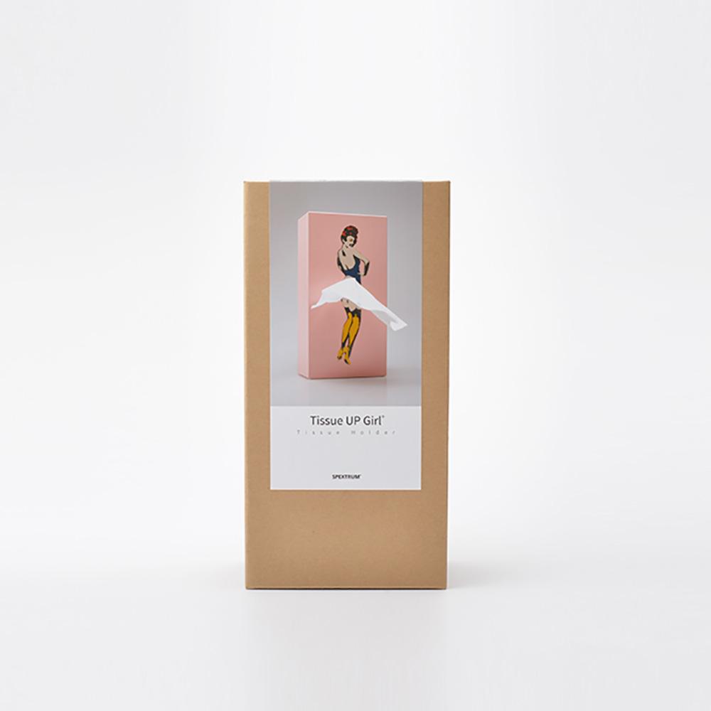 SPEXTRUM 蓬蓬裙女郎面紙盒(淡粉色)
