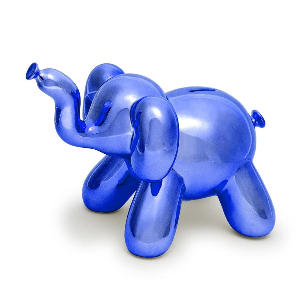 Made by humans|閃光大象存錢筒(藍色)