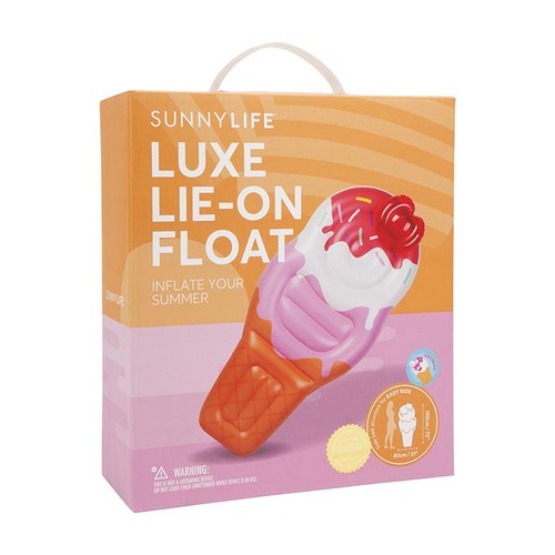 Sunnylife|豪華冰淇淋浮板