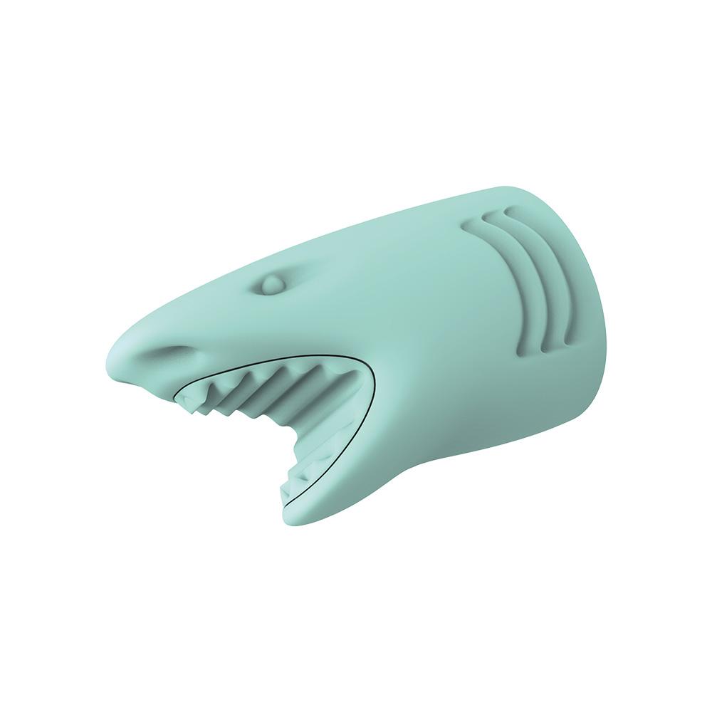 Qeeboo|迷你鯊魚行動電源(藍色)