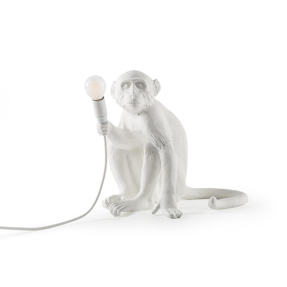 Seletti|猴子坐姿造型燈