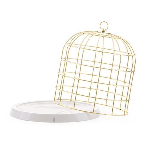 Seletti|Twitable金籠子置物盤