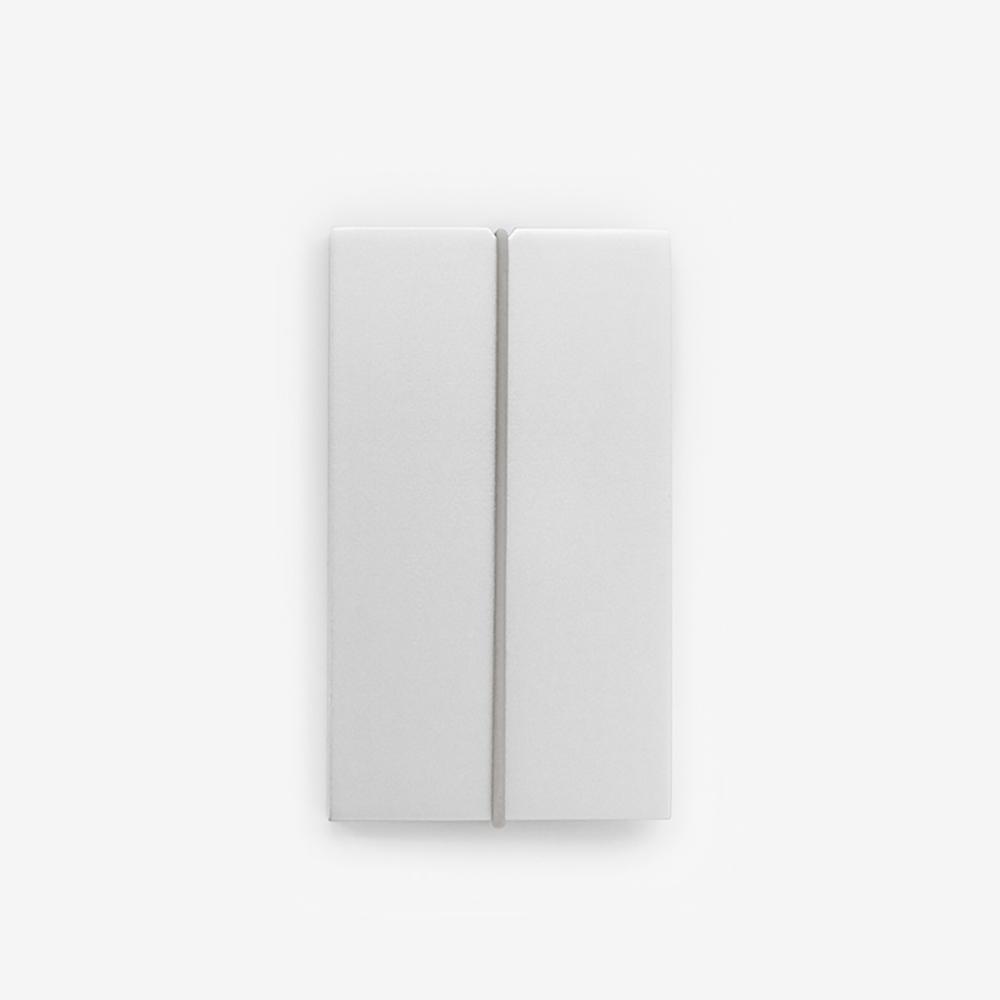 TEN|自動式鋁合金名片盒 - 銀