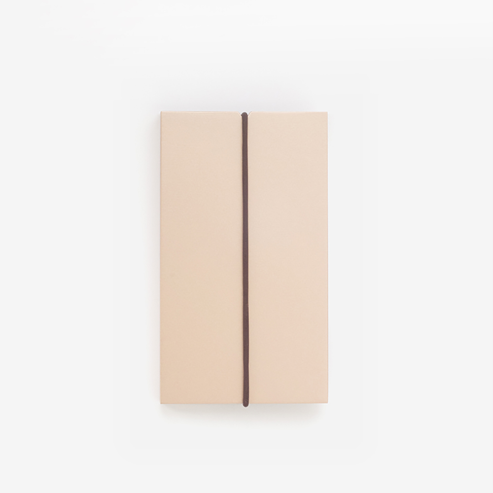 TEN 自動式鋁合金名片盒 - 玫瑰金