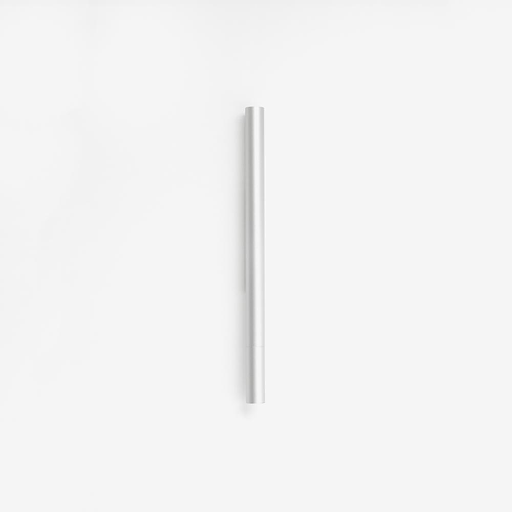 TEN 磁吸式鋁合金鋼珠筆 - 銀