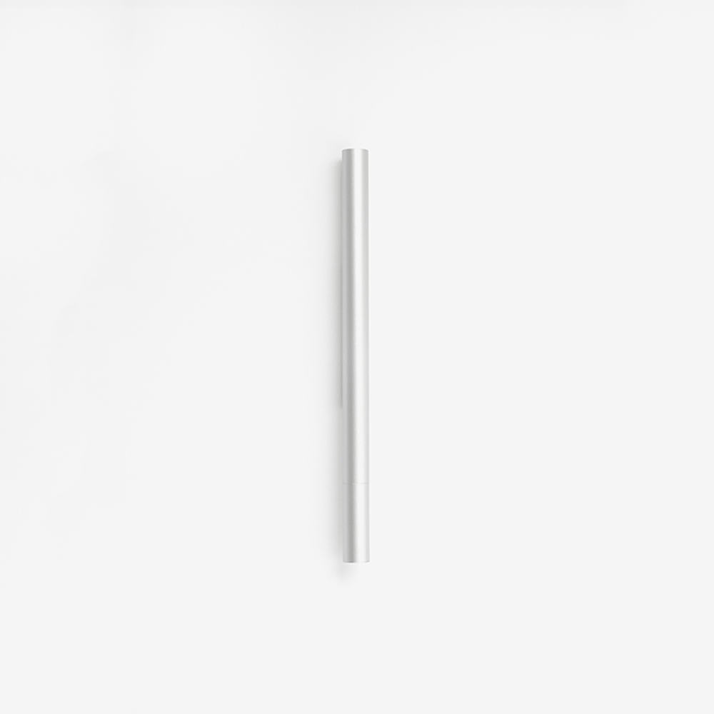 TEN|磁吸式鋁合金鋼珠筆 - 銀