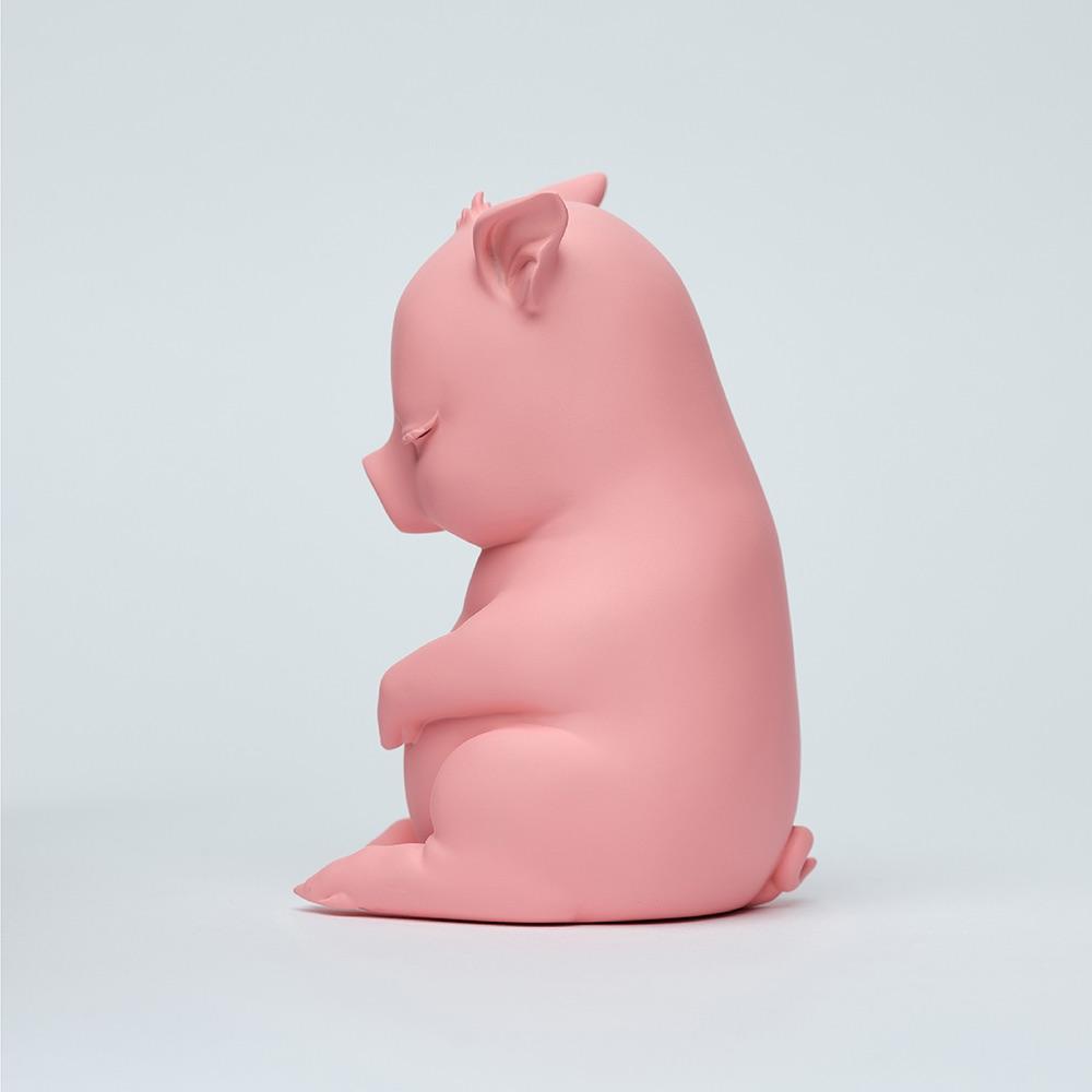水果硬糖|藝術玩偶雕塑-糖豬Candy Piggy(粉)