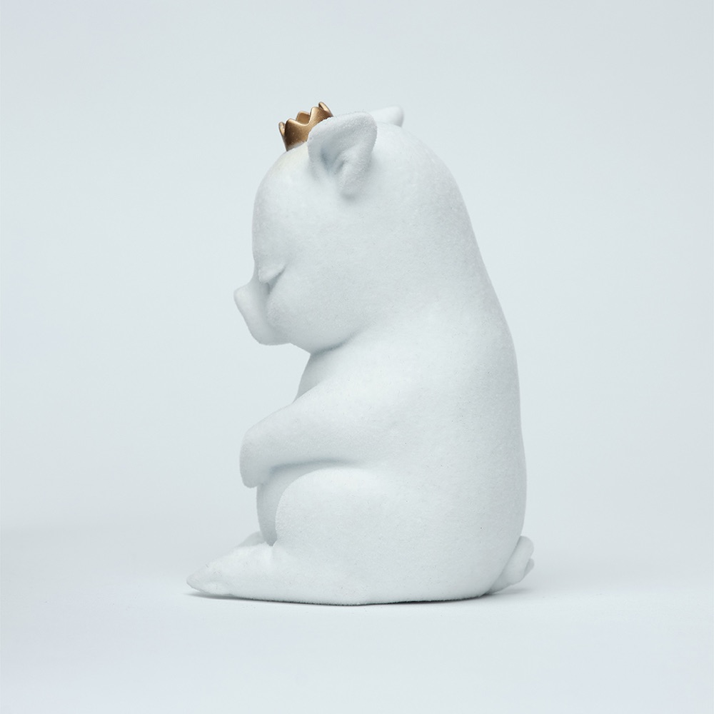 水果硬糖|藝術玩偶雕塑-糖豬Candy Piggy(白)