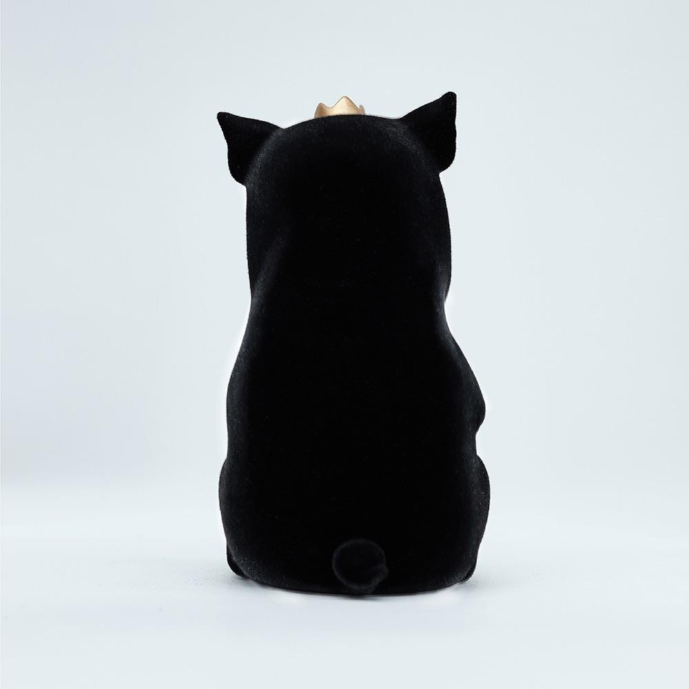 水果硬糖|藝術玩偶雕塑-糖豬Candy Piggy(黑)