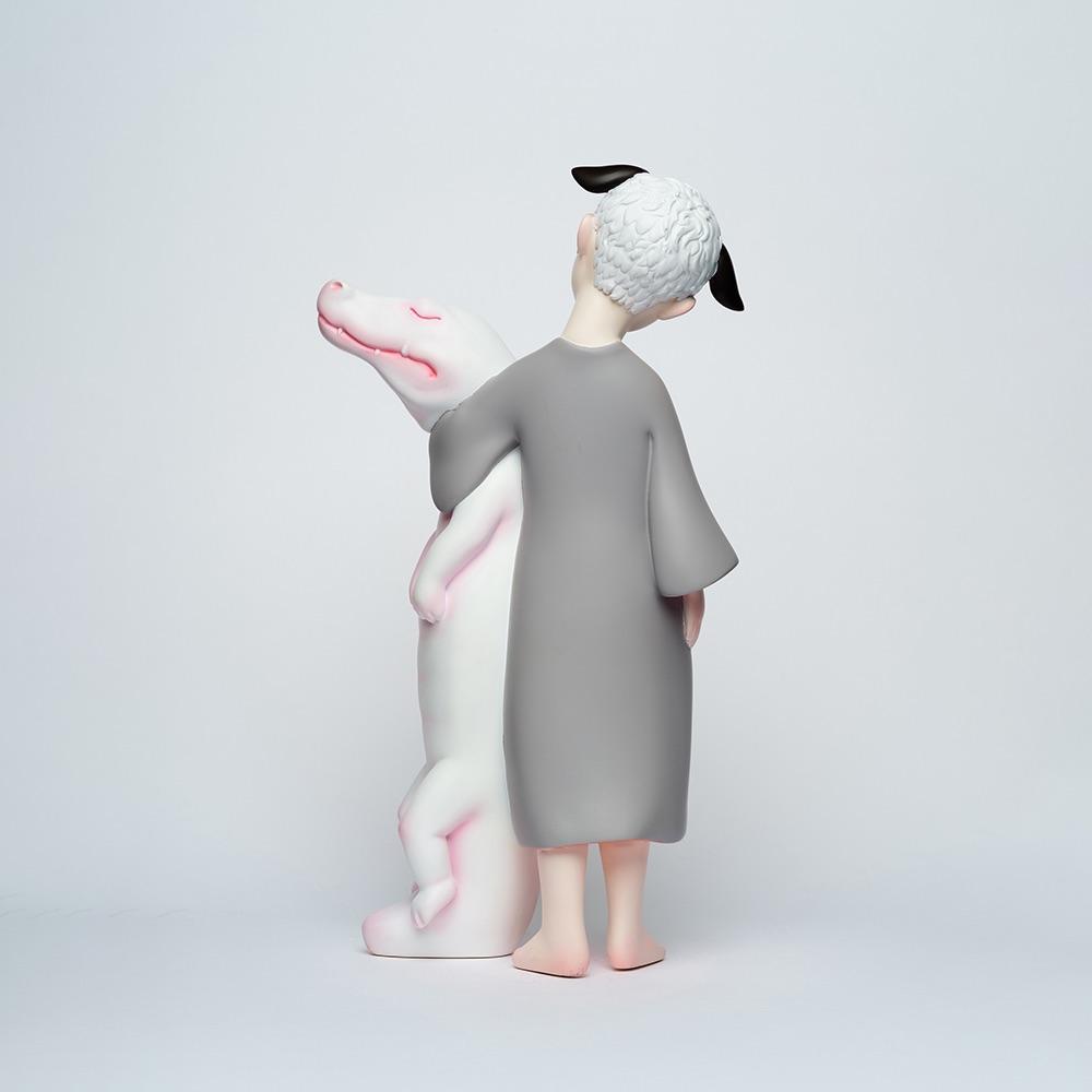 水果硬糖 藝術玩偶雕塑-鱷魚法則Alligator Principle