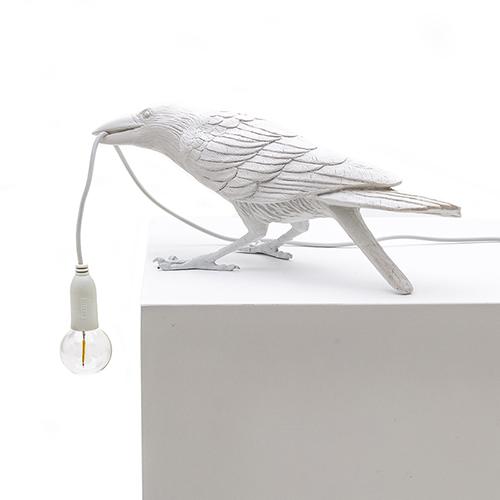 Seletti|Playing White烏鴉造型燈(白)
