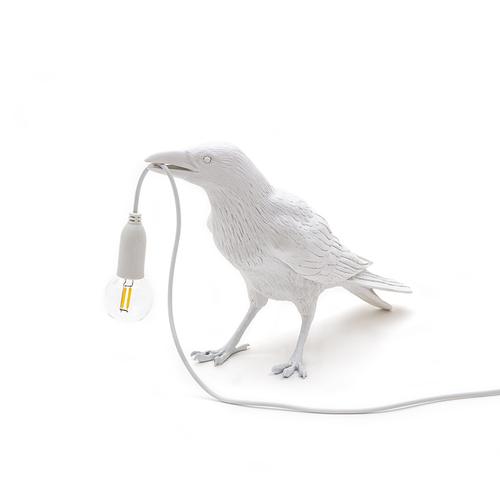 Seletti|Waiting white烏鴉造型燈(白)