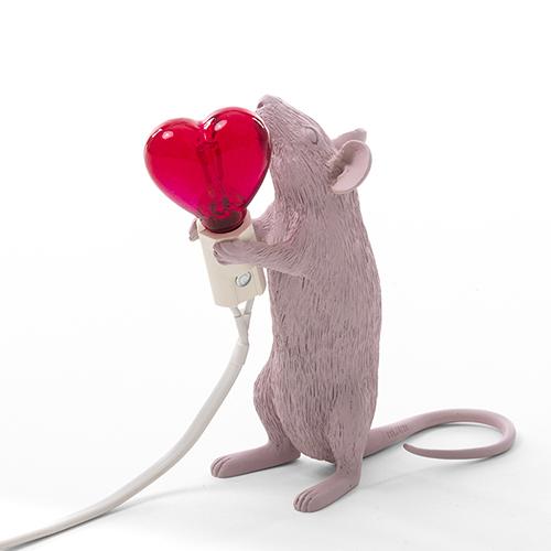 Seletti|老鼠燈(愛心燈泡)