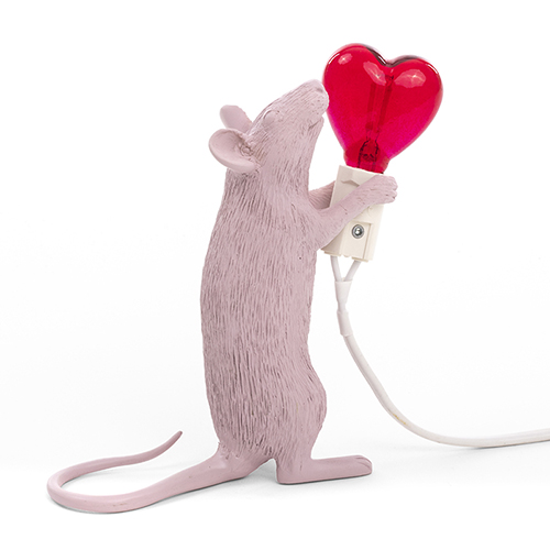 Seletti 老鼠燈(愛心燈泡)