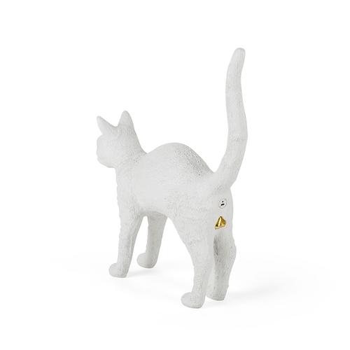 Seletti|貓咪造型燈(白)