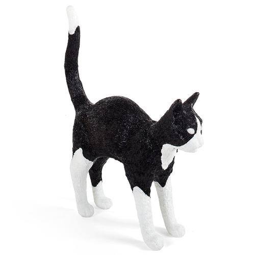 Seletti|貓咪造型燈(黑白)