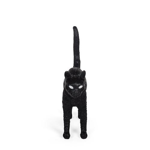 Seletti 貓咪造型燈(黑)