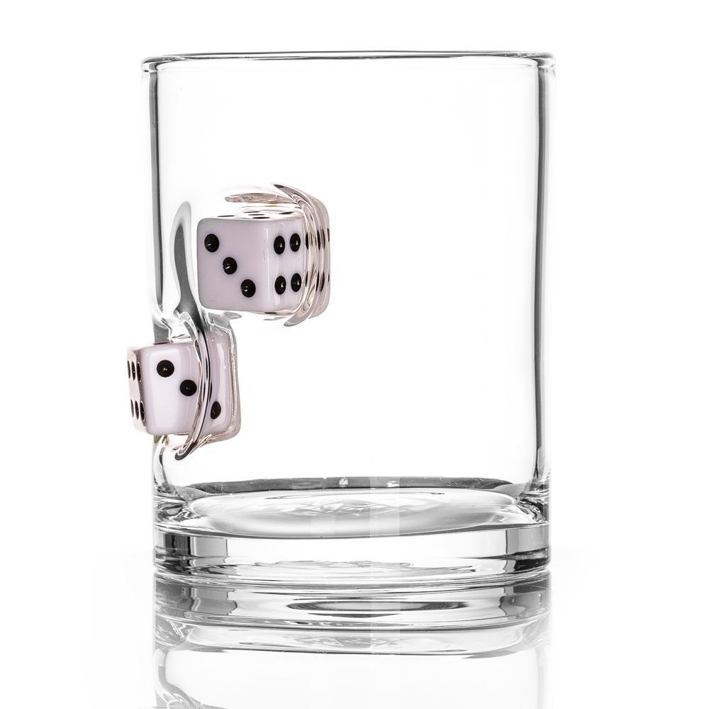 STUCK IN GLASS|玻璃威士忌杯 - DICE款