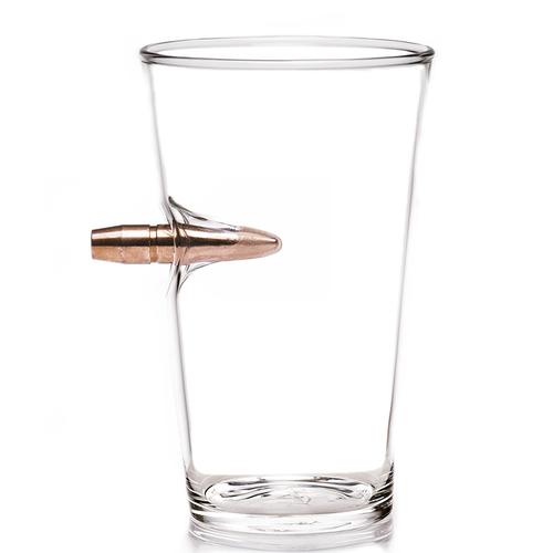 LUCKY SHOT|50 Cal BMG子彈手工玻璃啤酒杯