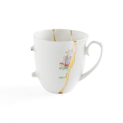Seletti|金色裂紋造型馬克杯