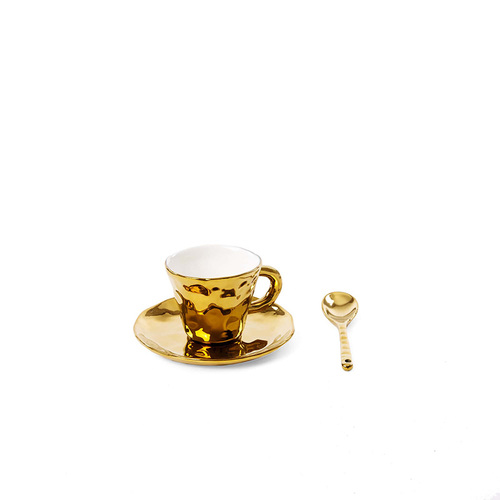 Seletti|鍍金造型咖啡杯