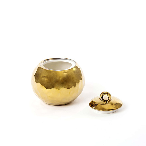 Seletti|鍍金造型糖罐