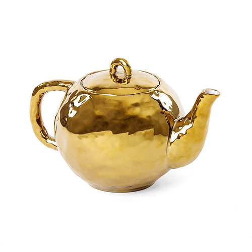 Seletti 鍍金造型茶壺